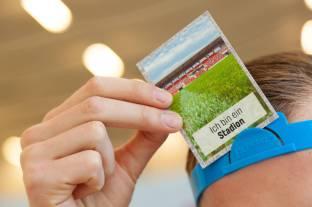 Marvins Stadionkarte.