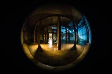 Ca. 5000 Kubikmeter fasst die Kammer