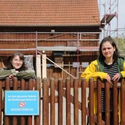FÖJ im egapark: Klara und Emma lieben es