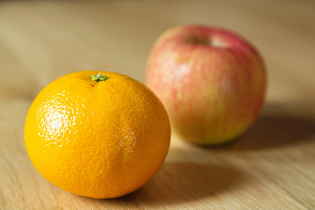 what is the imposter syndrome, orange and apple