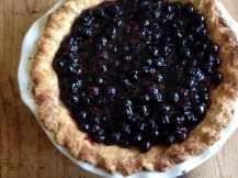 My favorite Blueberry Pie
