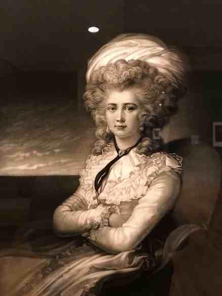 Maria Cosway - self portrait