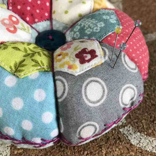 Little Hexies Pincushion