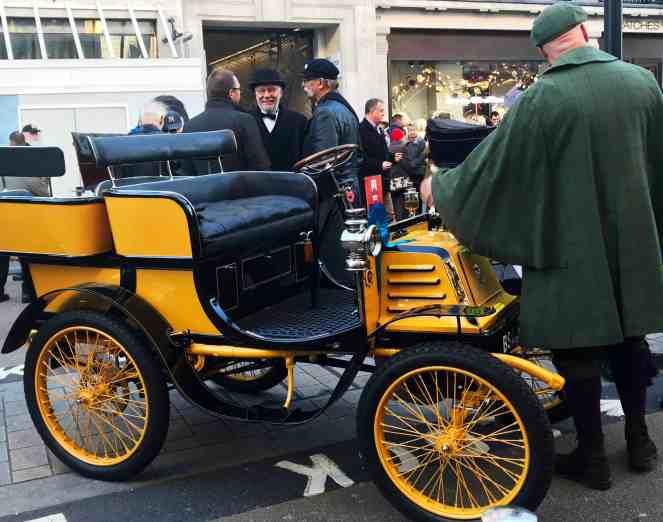 Vintage car for London to Brighton car run