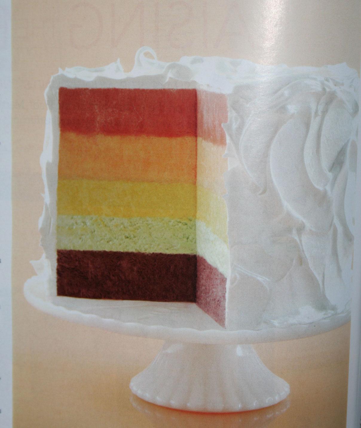 Lemon Chiffon Cake Martha Stewart