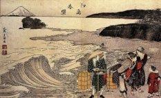 """""""Women on the Beach""""- Hokusai 1797"""