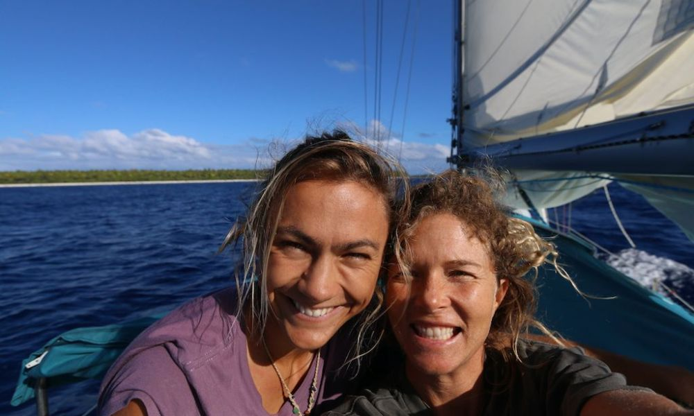 Empowering the Sisterhood: voyaging with two amazing sea sisters
