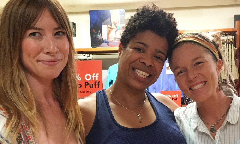Patagonia Atlanta's line-up included chef and urban farmer Carolynn Ladd and yoga instructor Charisse Williams.