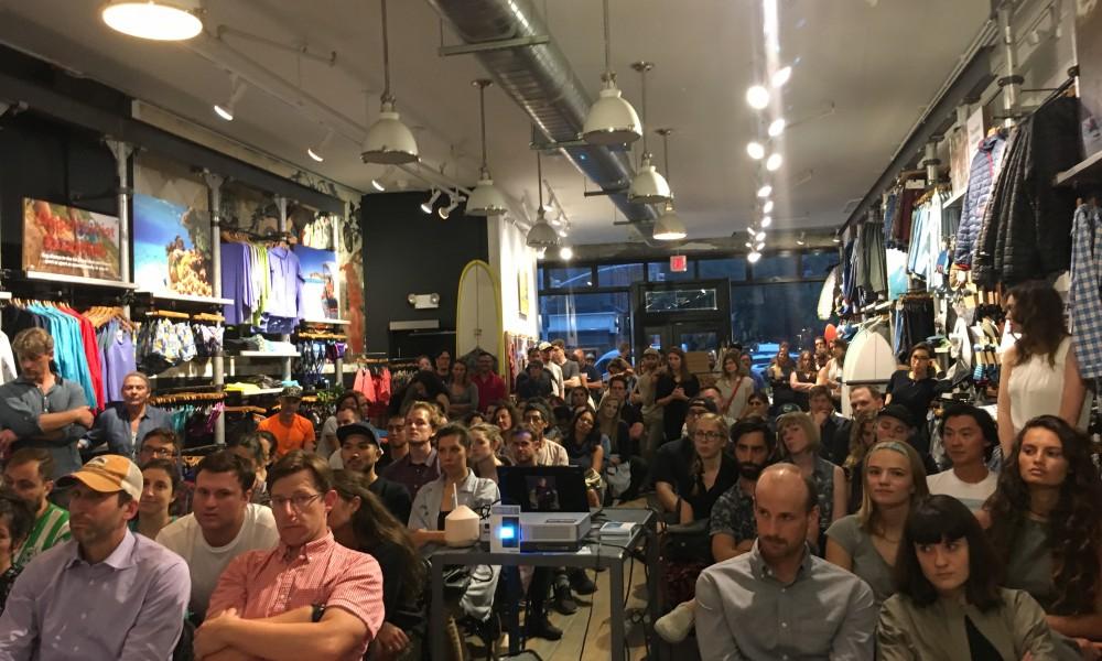 NYC crowd!!