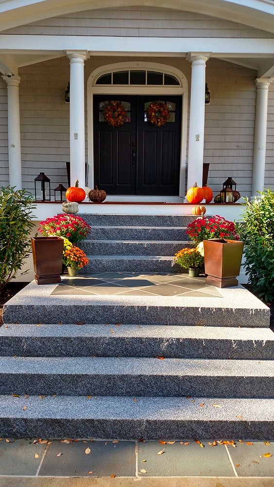 Steps And Treads Swenson American Granite Products   Staircase Steps Granite Design   Italian Marble Step   Elegant   Balcony   Moulding   Small House