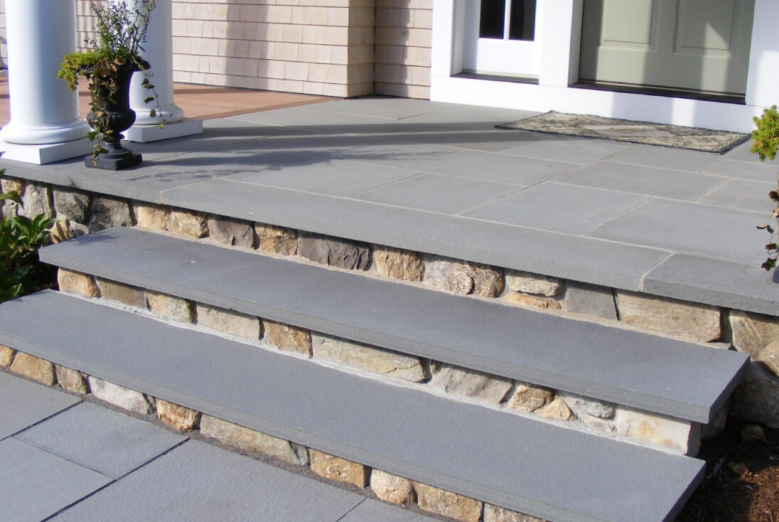 Steps And Treads Swenson American Granite Products | Granite Stone Steps Outdoor