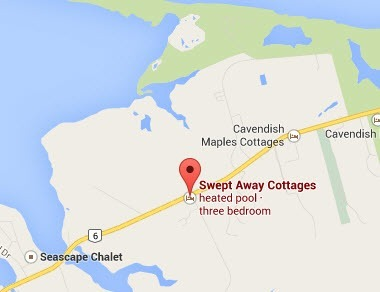Swept Away Cottages location