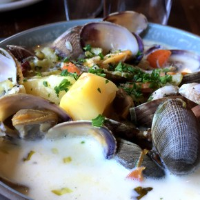 Oysters and Chowder in San Fran