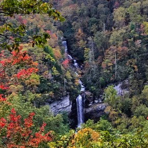 A Fall Hike to Raven Cliff Falls