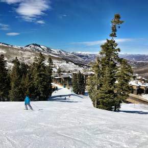 Spring Skiing Bliss in Utah