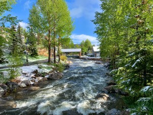 Blue River in Breckenridge