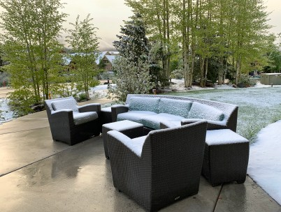 Patio at Residence Inn by Marriott Breckenridge