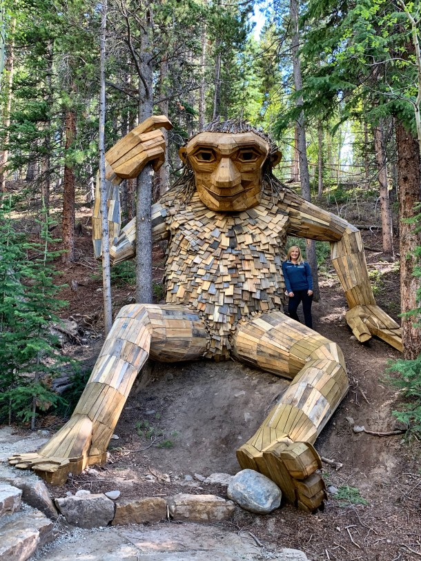 JB at the Breck Troll
