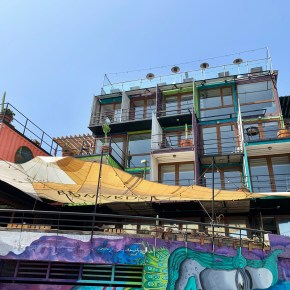 Hotel Winebox in Valparaiso, Chile: South America's First Hotel Made of Recycled Shipping Containers