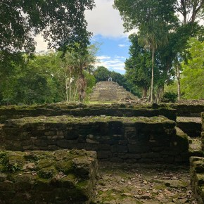 New River Boat Tour to Lamanai Mayan Ruins in Belize