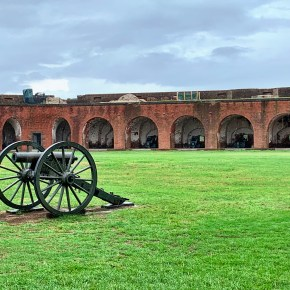 Tour a Historic Fort in Georgia:  Fort Pulaski National Monument