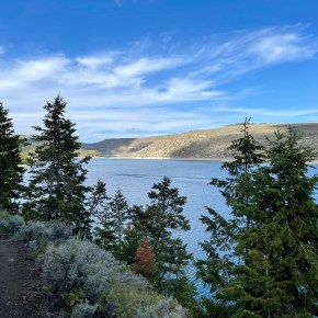 Hiking Strawberry Narrows Trail from Strawberry Reservoir in Utah