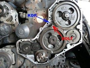 IP drive gear skiped a tooth?  Dodge Diesel  Diesel