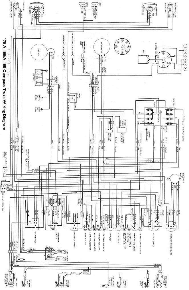SOLVED: 1970 dodge truck ignition switch wiring diagram