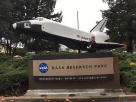 Gary at the NASA Research Park
