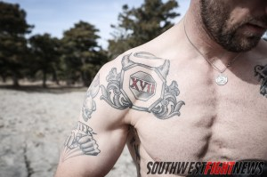 Bubba McDaniel sporting new ink from TUF 17