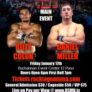 Billy Colon vs Daniel Miller, Rocktagon 30 main event.