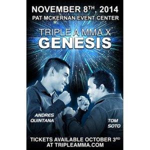 Triple-A-MMA Quintana vs. Soto