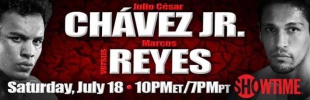 Julio Cesar Chavez Jr vs. Marcos Reyes