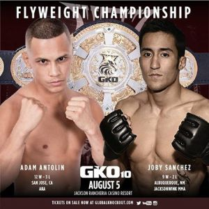 Adam Antolin vs Joby Sanchez