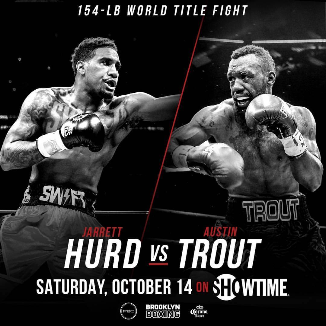 Jarrett Hurt Vs. Austin Trout Title Fight Set For October