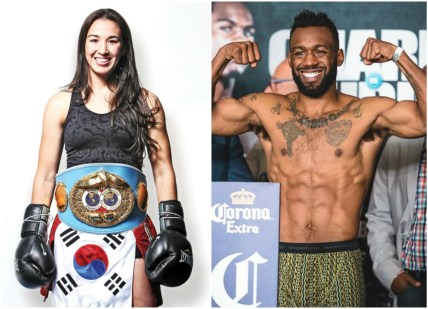 Jennifer Han and Austin Trout