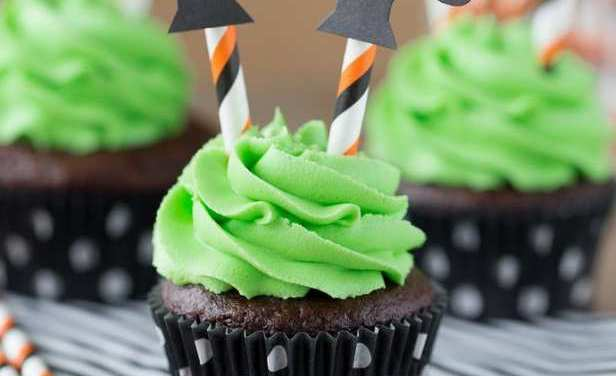 Wicked Witch Cupcakes | Halloween Goodies