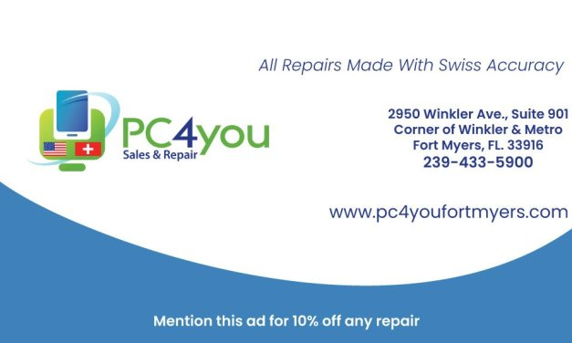 Computer Repairs Made With Swiss Accuracy | PC4you Fort Myers