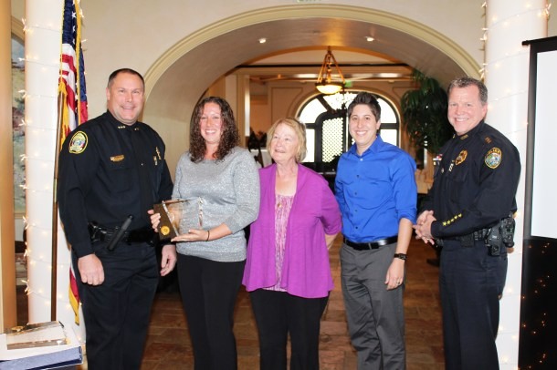 2014 SWFPCA Civilian of the Year- Forensic Technician Kasey Buckner, Cape Coral P.D.