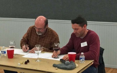 February Meeting: The Wines Were Saved