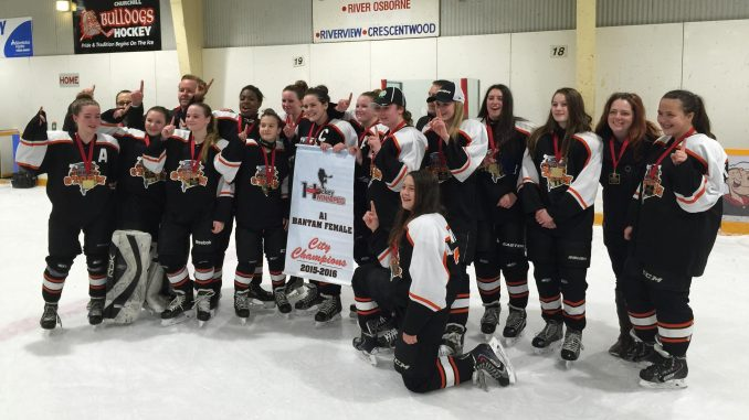 Storm Bantam A1 Black City Champs 2015-16