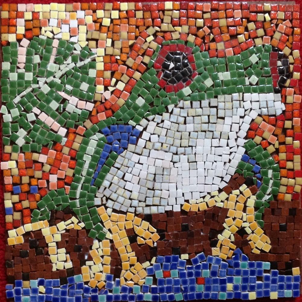 A Homemade Tile Mosaic (1/2)