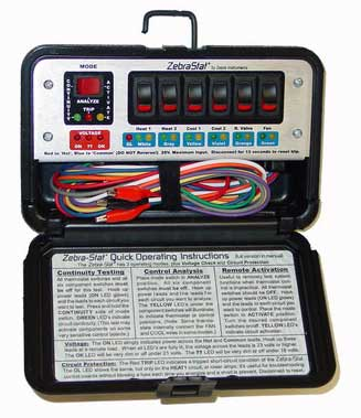ZebraStat - Analyzer, Remote Control, & Multi-Mode Tester