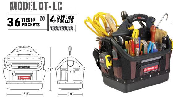 Veto Pro Pac Model OT-LC 36 Tiered Pockets 4 Zippered Pockets