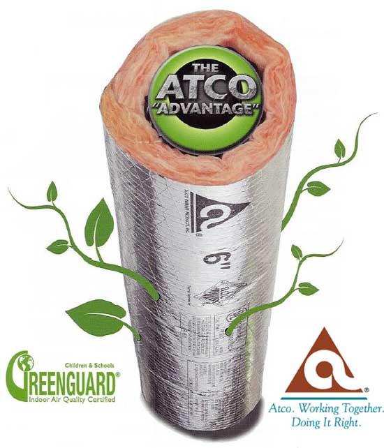 Atco GreenGuard Stardard. No Extra Charge.