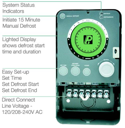 Paragon Commercial Defrost Controls 9000 Series