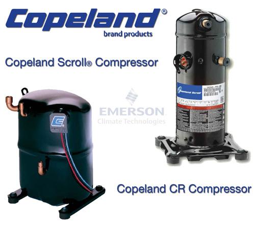 Emerson Climate Technologies Copeland Brand Compressors