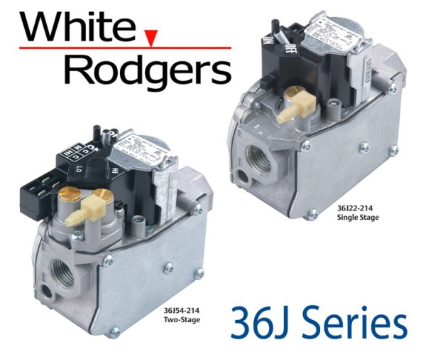 White-Rodgers 36J Series Electonic Ignition Gas Valves
