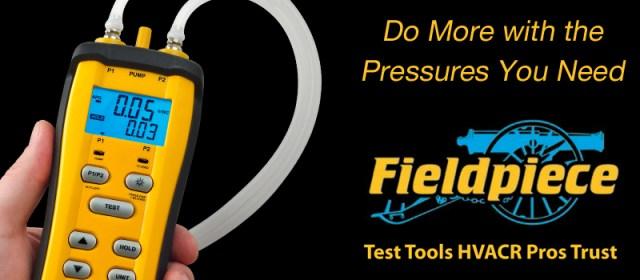 Field Piece SDMN6 Manometer