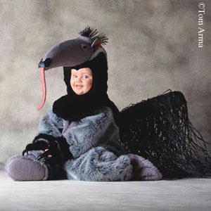 Przebranie mrówkojada dla dziecka (fot. www.swiat-obrazkow.pl)